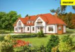 Проект одноэтажного дома с мансардой  - Муратор БЦ01а